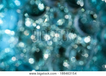 abstract turqoise shiny party background for cards