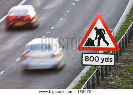 Roadworks Ahead