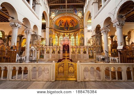 Hagios Demetrios Church, Thessaloniki