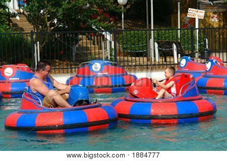 Keeping Cool With Bumper Boats