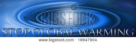 conceptual design'stop global warming'
