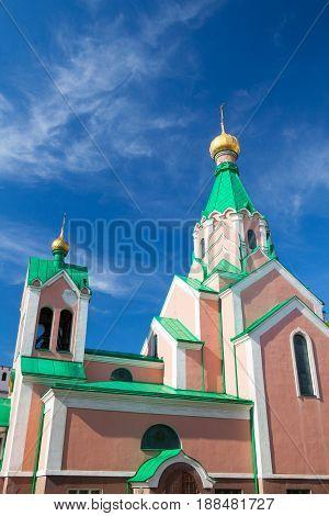 Church of Saint Gorazd Olomouc Czech Republic / Czechia Central Europe