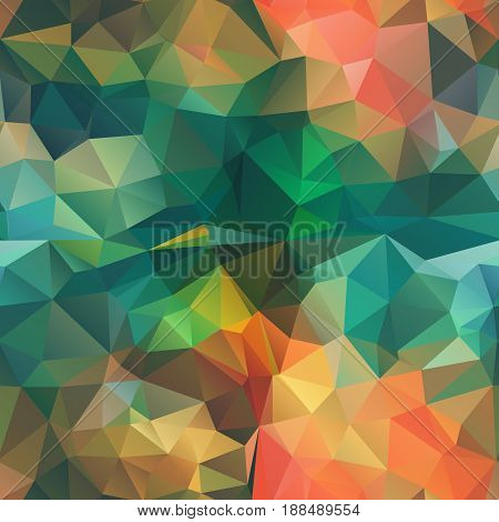 Seamless Triangle shape Background for your design