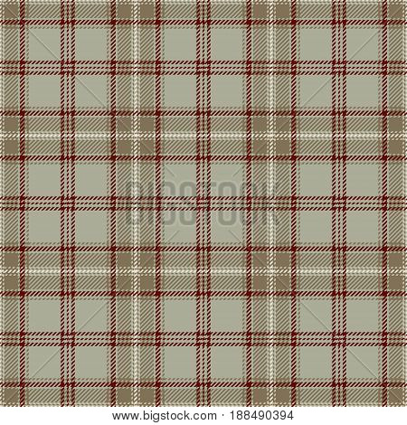 Tartan Seamless Pattern Background. Red Beige and White Plaid Tartan Flannel Shirt Patterns. Trendy Tiles Vector Illustration for Wallpapers