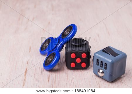Fidget Spinner And Fidget Cube, The Latest Stress Relieving Craze