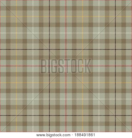 Tartan Seamless Pattern Background. Red Brown Black Yellow Gray and White Plaid Tartan Flannel Shirt Patterns. Trendy Tiles Vector Illustration for Wallpapers.