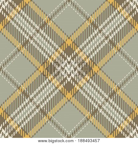 Tartan Seamless Pattern Background. Beige Yellow and White Plaid Tartan Flannel Shirt Patterns. Trendy Tiles Vector Illustration for Wallpapers.