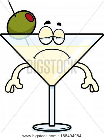 Sad Cartoon Martini