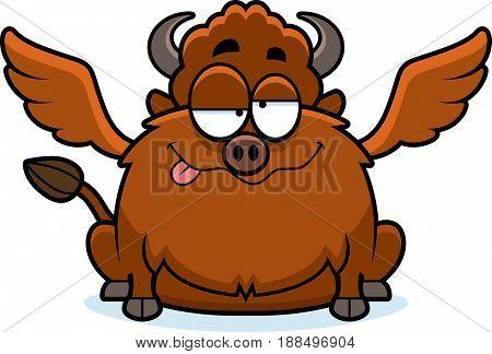 Drunk Cartoon Buffalo Wings