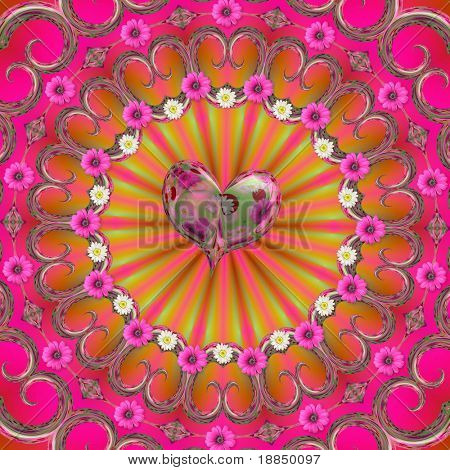 summer love mandala