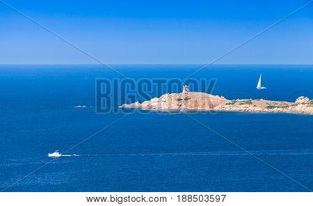 Corsica Island. Summer Panoramic Seascape