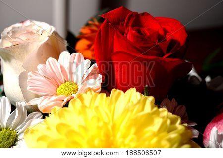 Natural flowers - sincere feelings. Love - as it is - is always beautiful.