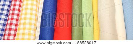 Background Of Cotton Fabrics