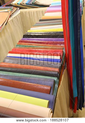 Colorful Faux Leather For Sale In The Haberdashery
