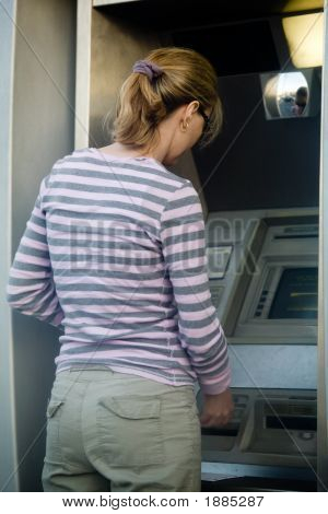 Woman Banking