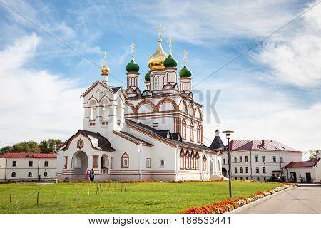 Trinity Sergius Varnickiy Monastery near Rostov Russia