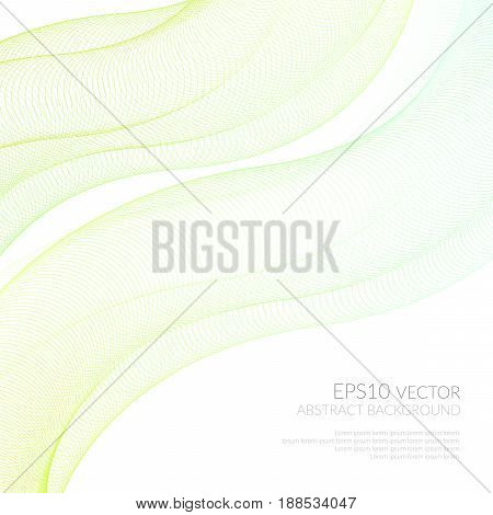 Futuristic vector illustration. Abstract background with distortion space. Space for text.