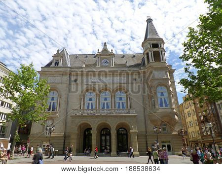 Cercle Municipal on Place d'Armes square, Luxembourg City, Luxembourg