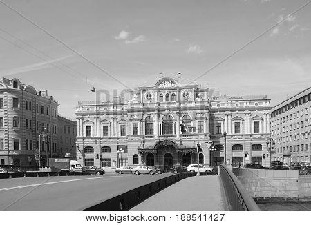 Tovstonogov Bolshoi Drama Theater in St. Petersburg