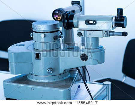 measuring instrument close up. Good for a industry design