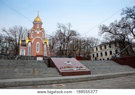 Russia, Vladivostok, April 8: The Eternal Flame