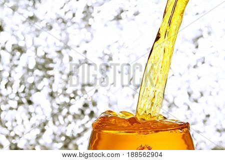 water splash background  / An alcoholic drink is a drink that contains a substantial amount of ethanol