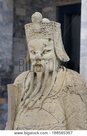 Ancient Statue Of People