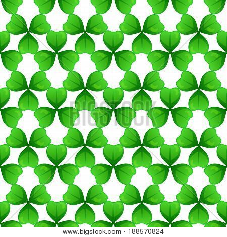 St Patricks Day Seamless Pattern