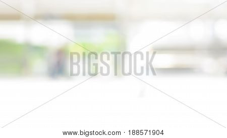 Blur white green abstract background 16:9 proportion size