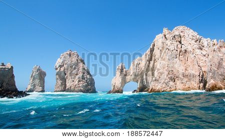 El Arco (the Arch) at Lands End at Cabo San Lucas Baja Mexico MEX