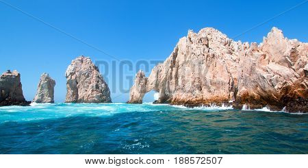 El Arco / Los Arcos (the Arch) at Lands End at Cabo San Lucas Baja Mexico MEX