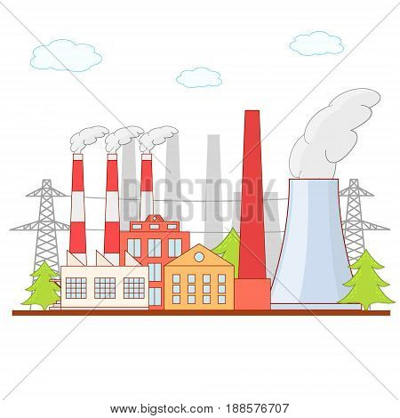 Get Cartoon Pollution Factory Pictures