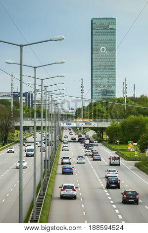 O2 Skyscraper In Munich