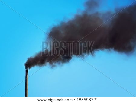 Factory Chimney Smoking