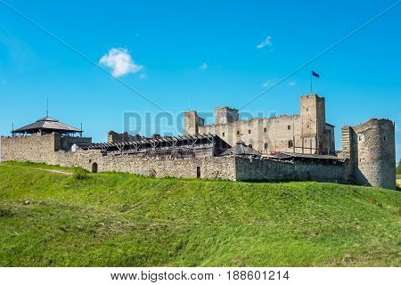 Ruins of the Livonian Order Castle. Rakvere Estonia Baltic States