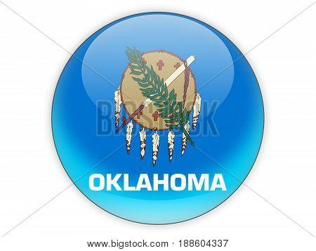 Flag Of Oklahoma, Us State Icon