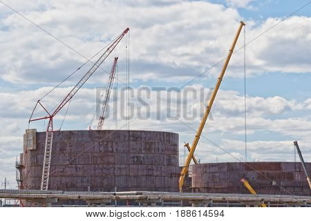 Construction Of A New Tank Farm For Storage Of Petroleum Products