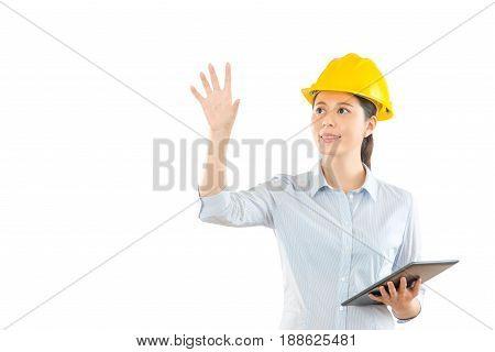 House Engineering Designer Using Digital Tablet