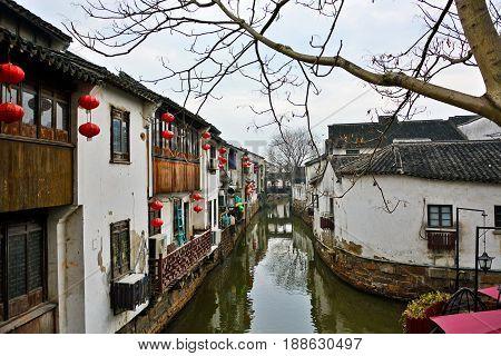 Jiangsu, Suzhou, Shantangjie Street, is very characteristic of the south of the Yangtze river.