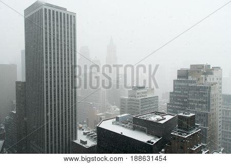 New York City Snowstorm
