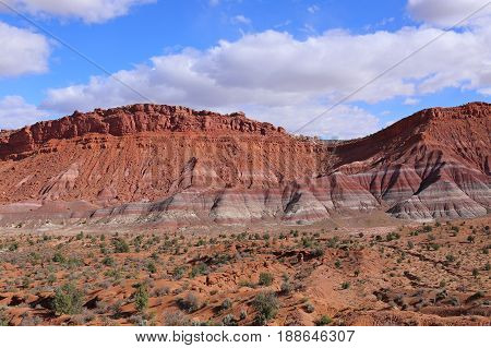 Colorful Hills in Paria Movie, Grand Staircase-Escalante National Monument, Utah