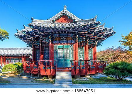Dae Jang Geum Park Or Korean Historical Drama In South Korea.