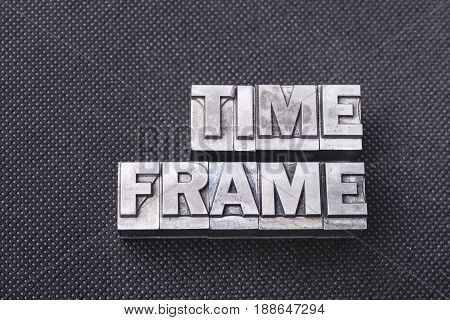 Time Frame Bm
