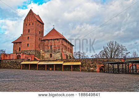 Trakai Island Castle Museum At Day Time