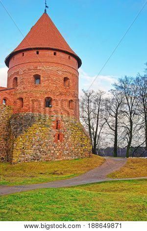 Tower Of Trakai Island Castle Museum