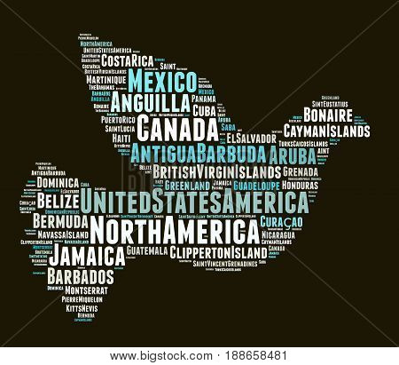 States And Territories In North America