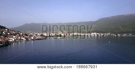 Unesco Listed Town Ohrid And Lake Ohrid