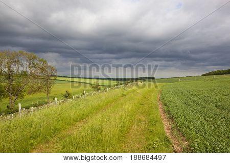 Stormy Clouds Landscape