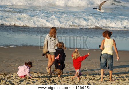 Girls Day At Beach