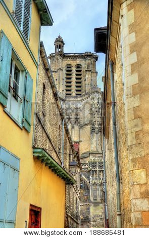 Saint Peter and Saint Paul Cathedral of Troyes in France, Aube